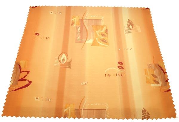 Vodoodpudivý ubrus Blanka - oranžová 75 x 75 cm
