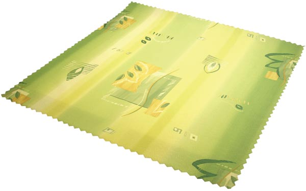 Vodoodpudivý ubrus Blanka - zelená 75 x 75 cm