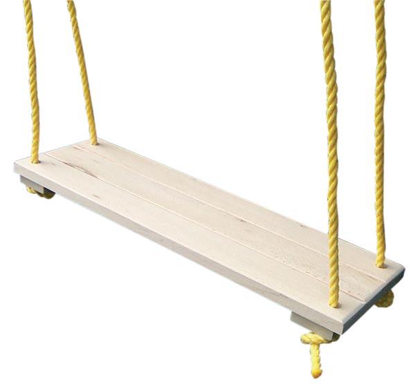 Dětská dřevěná houpačka 5741 prkénko