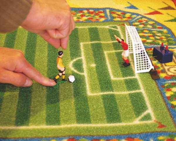 Dětský koberec fotbal Tipp-Kick 80x120cm