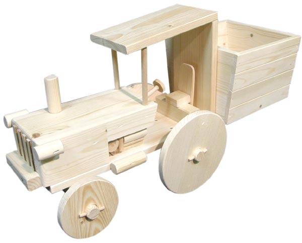 Dekorační květináč - traktor