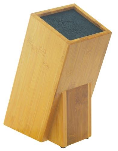 Blok na nože - bambus štětiny