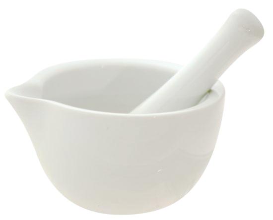 Hmoždíř porcelánový
