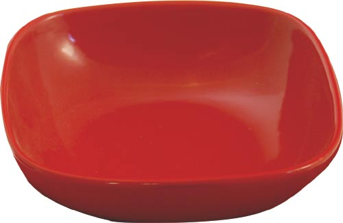 Miska polévková - červená