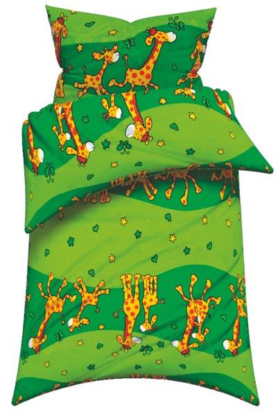 Povlečení Žirafa 135 x 90 cm - bavlna