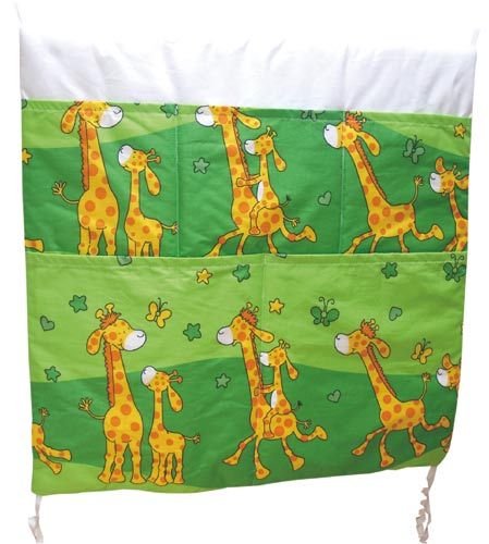 Kapsář potisk Žirafa, zelená