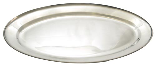 Nerezový tác ovál 35 cm, VETRO-PLUS