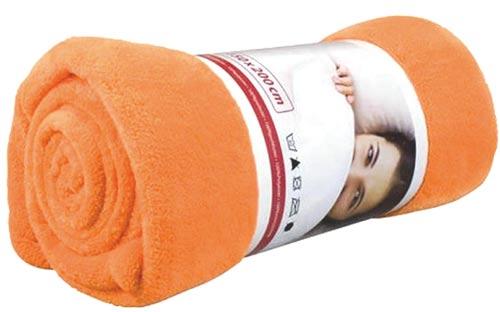 Deka mikrovlákno Jolly oranžová
