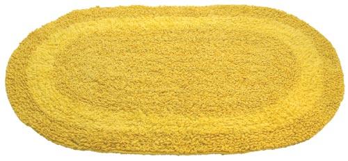 Koupelnová předložka NARAINA oboustranná - žlutá