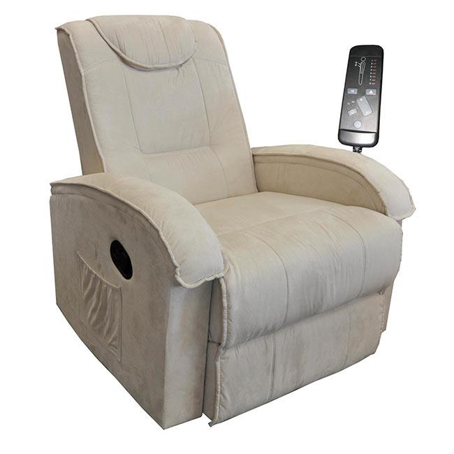Relaxační masážní křeslo BOB K40, béžové, IDEA