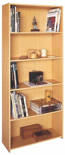 Knihovna buk - nábytek 1613A, IDEA
