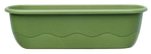 Samozavlažovací truhlík Mareta 60 + hák - zelená světlá / tm