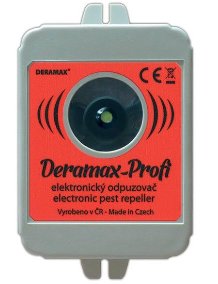 Ultrazvukový odháněč škůdců Deramax Profi