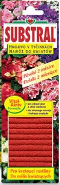 Substral tyčinky - hnojivo pro kvetoucí rostliny