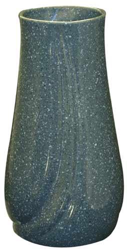 Váza hřbitovní vlnka 25 cm,  šedá
