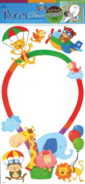 Samolepící dekorace tabule - balón