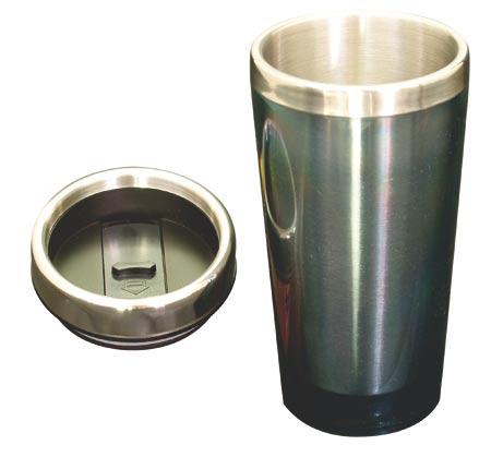 Cestovní termohrnek Avanza 0,5 L - černá