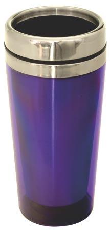 Cestovní termohrnek Avanza 0,5 L - fialová