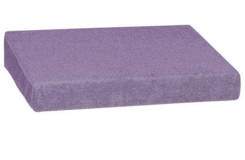 Froté prostěradlo 90 x 200 cm, fialová