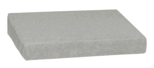 Froté prostěradlo 90 x 200 cm, šedá
