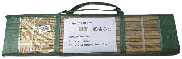 Bambus štípaný 1 x 5 m