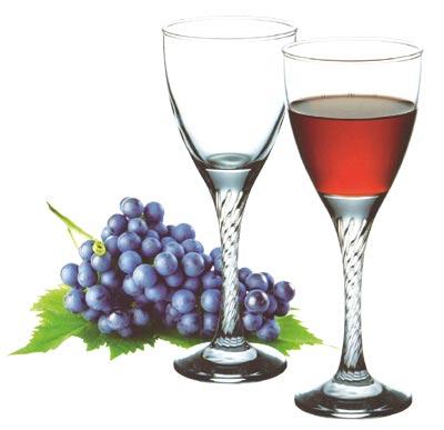Sklenice Twist - červené víno