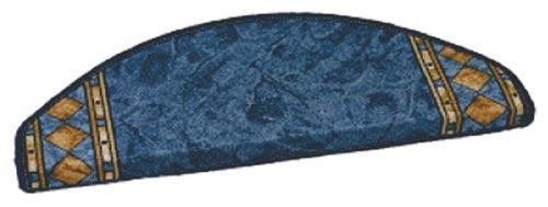 Samolepící nášlapy na schody Egypt 1557, modrá