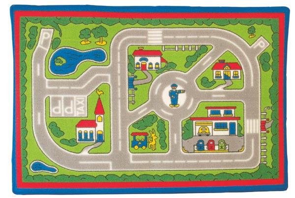 Dětský koberec silnice