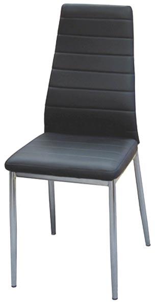 Židle Miláno černá, IDEA