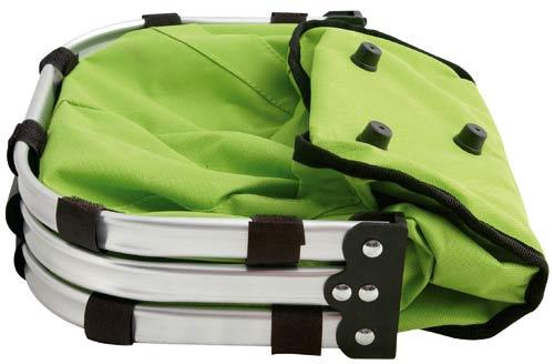 Skládací košík zelený