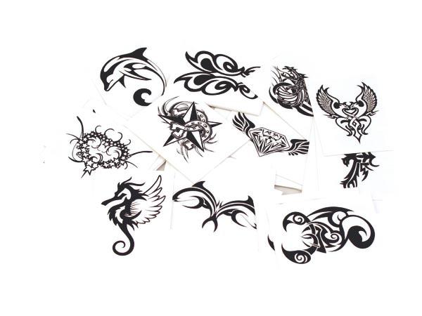 Tetovací obtisky na tělo 72 ks