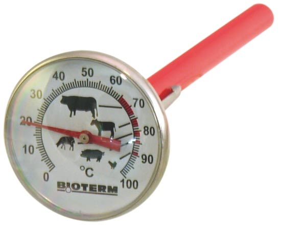 Teploměr na pečení a grilování masa