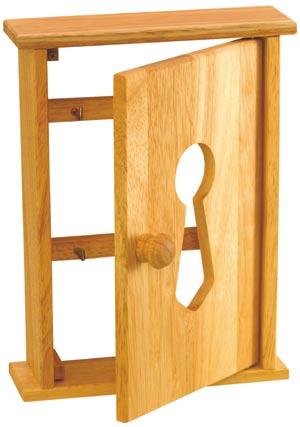 Skříňka na klíče, Schránka 27x27x6,5 cm, Shark