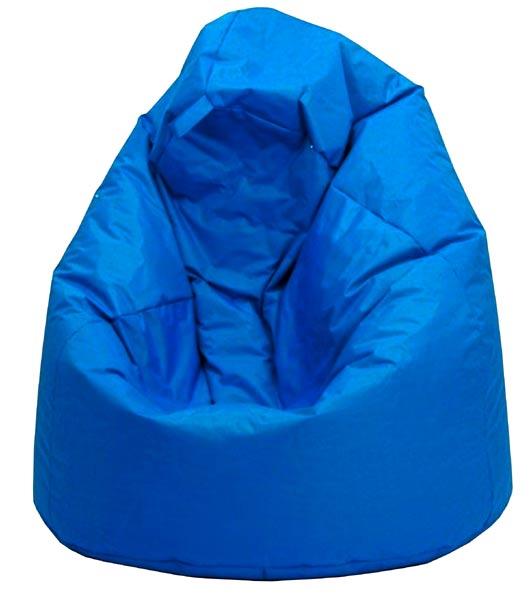 Sedací vak Jumbo modrý, IDEA