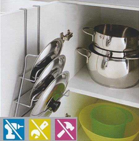Závěsný držák pokliček do kuchyně
