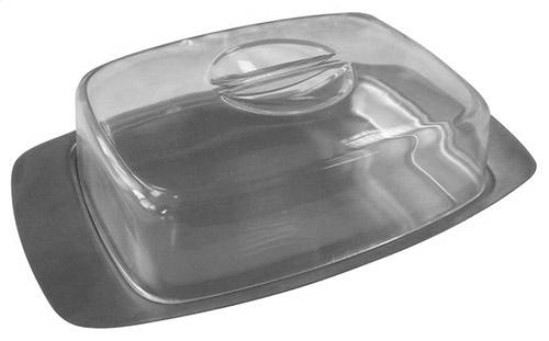 Nerezová dóza na máslo 17, 4 x 10, 9 cm - máslenka, TORO