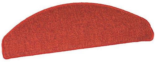 Samolepící nášlapy na schody Rambo 22 x 56 cm -  červená