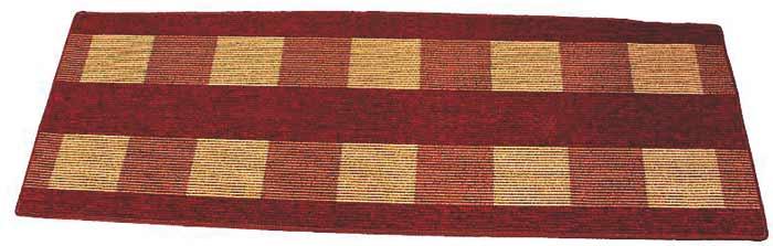 Koberec do předsíně Dijon 67 x 200 cm - červená