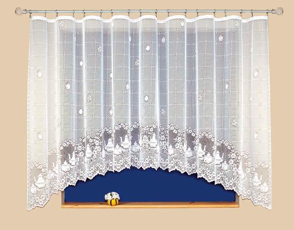 Kusová záclona KUCHYŇKA 310 x 150 cm