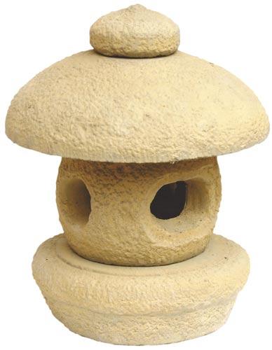 Japonská lampa do zahrady průměr 28 cm x 38 cm