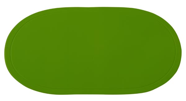 Prostírání ovál zelené 29 x 44 cm Toro