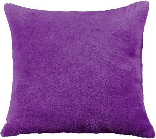Polštářek Mazlík 38 x 38 cm, fialová