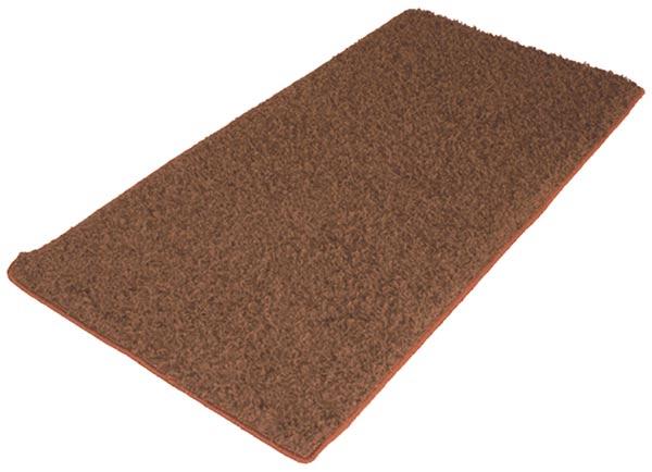 Kusový koberec Shaggy 65 x 133 cm - hnědý