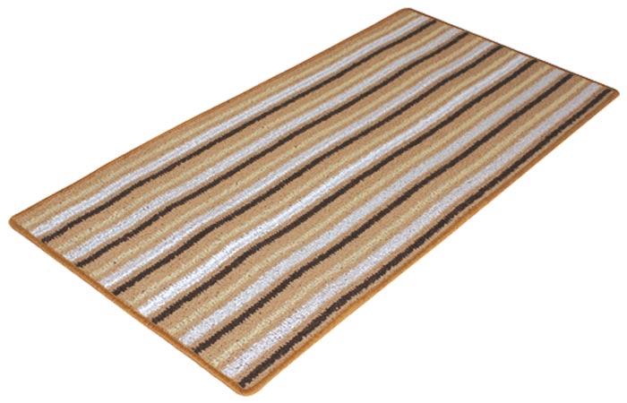 Kusový koberec Viktor 67 x 133 cm - hnědý