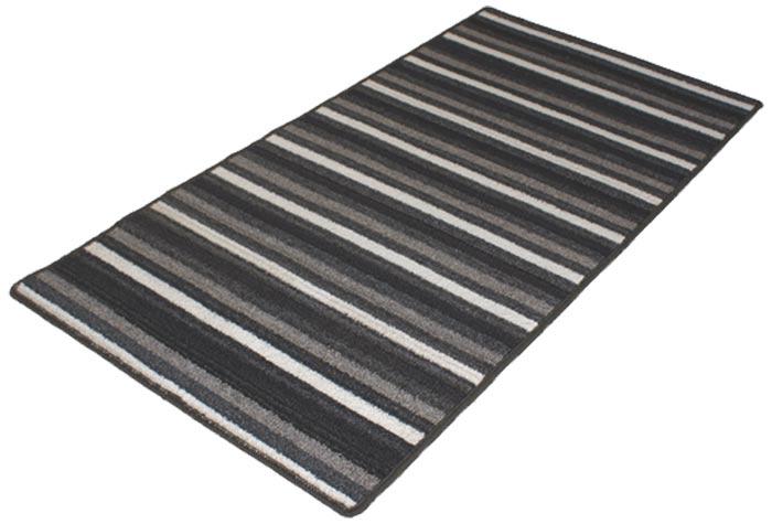 Kusový koberec Viktor 67 x 133 cm - černý