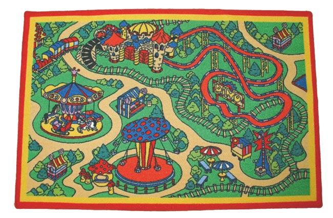 Dětský koberec Pouť 80 x 120 cm