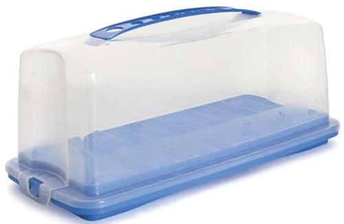 Podnos plastový s poklopem