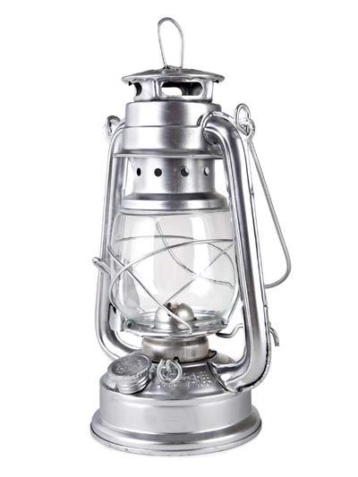 Petrolejka - petrolejová lampa kovová