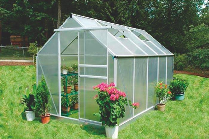 Zahradní polykarbonátový skleník 315x190x205 cm