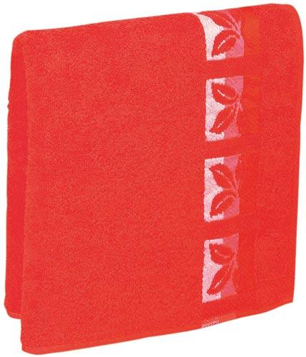 Osuška Fraza 70x140cm, červená